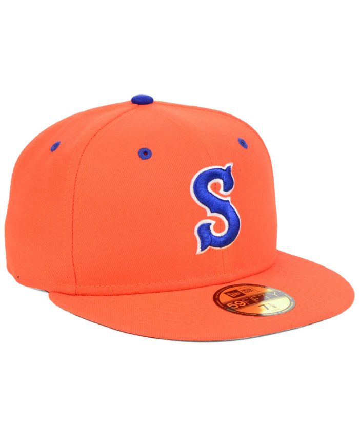 New Era Syracuse Mets AC 59FIFTY Fitted Cap & Reviews - Sports Fan Shop By Lids - Men - Macy's