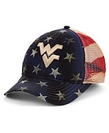West Virginia Mountaineers 4th Snapback Cap