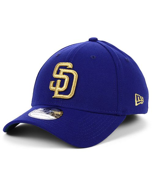 New Era San Diego Padres Flag Patch 39THIRTY Cap