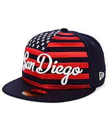 San Diego Padres Retro Big Flag 59FIFTY Cap