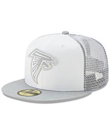 New Era Atlanta Falcons White Cloud Meshback 59FIFTY Cap