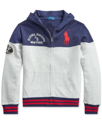 Toddler Boys Knit Hoodie, Created For Macy's