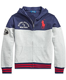 Polo Ralph Boys Knit Hoodie, Created For Macy's