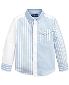 Toddler Boys Oxford Spade Shirt