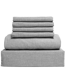 Chambray 6-Piece Sheet Set, Size- Full