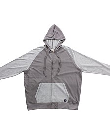 PX Clothing Big and Tall Zip Up Hoodie