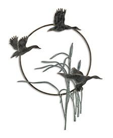 Home Flying Duck Trio Sculpture