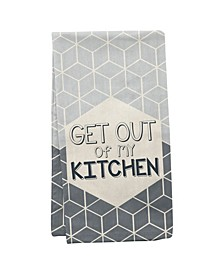 Wit Gifts Tea Towels, Get Out