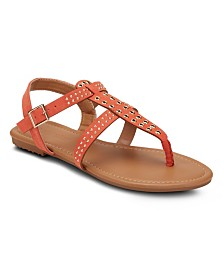 Olivia Miller Sunshine Daydream Grommet Sandals