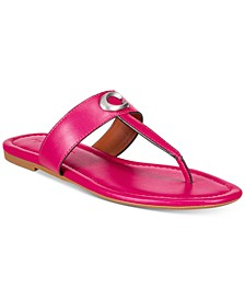 Women's Jessie Buckle Thong Sandals