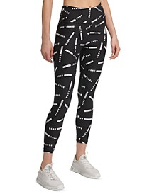 Sport Logo-Print High-Waist Leggings
