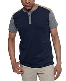 Men's Colorblocked Henley