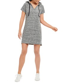 Ideology Terry Hoodie Dress, Created for Macy's