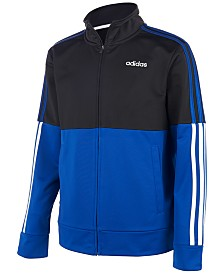 adidas Big Boys Colorblocked Tricot Jacket