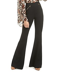 Norah High-Waist Flare-Leg Pants