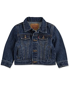 Baby Boys & Girls Cotton Denim Trucker Jacket