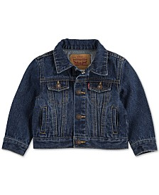 Levi's® Baby Boys & Girls Cotton Denim Trucker Jacket