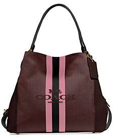 Horse And Carriage Jacquard Edie 31 Shoulder Bag