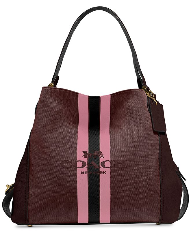 COACH Edie Shoulder Bag 31 With Horse And Carriage