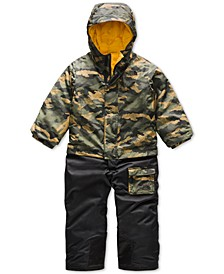 Toddler Boys Insulated Hooded Jumpsuit