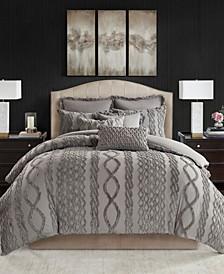 Aran Isles King 9-Pc. Tufted Chenille Comforter Set