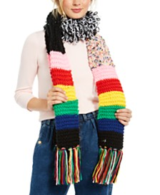 Betsey Johnson Xtra Haute Patchwork Scarf