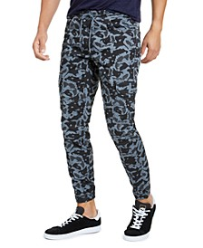 Men's Camo Jogger Pants, Created for Macy's