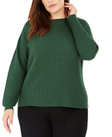 Eileen Fisher Plus Size Textured Sweater