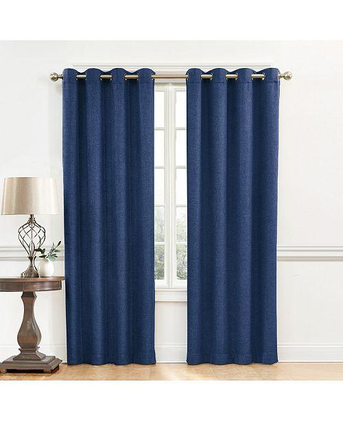 """Regal Home Denver Blackout Grommet Curtain, 63"""" X 50"""