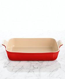 """Heritage Stoneware 12"""" x 9"""" Rectangular Baking Dish"""