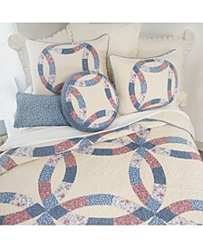 Michelle Wedding Ring Cotton Quilt Collection