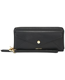 Nine West Kate Zip-Around Wristlet Wallet