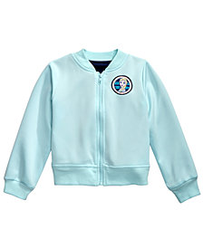 Disney Little Girls Elsa Bomber Jacket