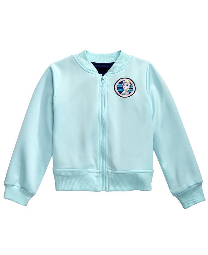 Disney - Little Girls Elsa Bomber Jacket