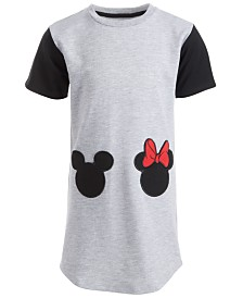 Disney Little Girls Mickey & Minnie Mouse Dress