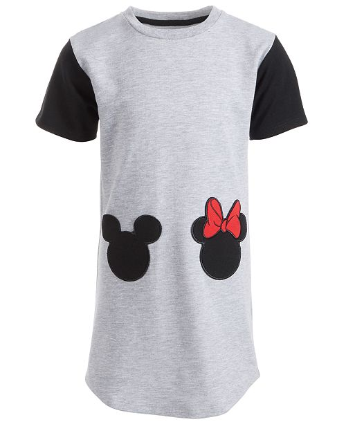 Disney Toddler Girls Mickey & Minnie Pocket Dress