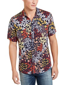 GUESS Men's Jardin Floral Shirt