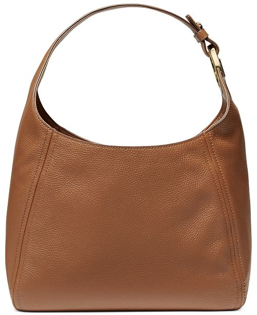 Michael Kors Fulton Large Leather Hobo & Reviews
