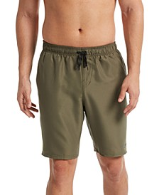 "Men's Diverge Perforated Colorblocked 9"" Swim Trunks"