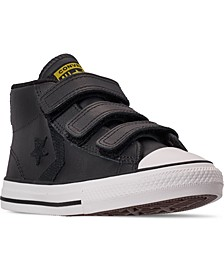 Little Boys Star Player 3V Asteroid Mid Top Casual Sneakers from Finish Line