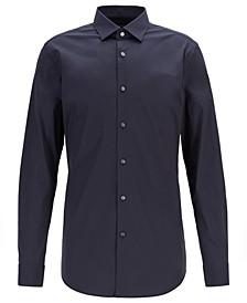 BOSS Men's Henning Travel Line Extra-Slim-Fit Stretch Poplin Shirt
