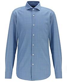 BOSS Men's Jason Slim-Fit Virgin Wool Shirt
