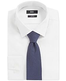 BOSS Men's Italian-Made Jacquard Pattern Tie