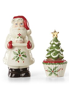 Bakeshop Santa Salt and Pepper Set