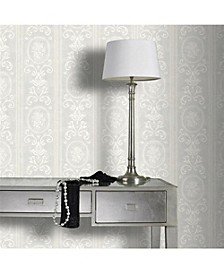 Graham Brown Cameo Stripe Paintable Wallpaper