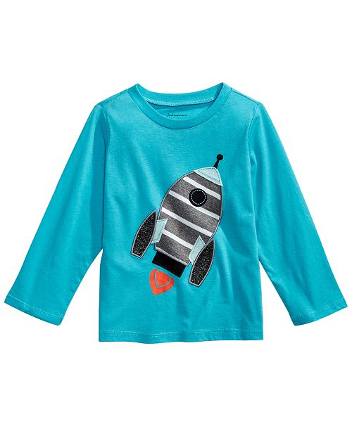 First Impressions Baby Boys Cotton Rocket T-Shirt, Created for Macy's