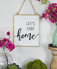 "VIP Home International Metal ""Home"" Sign"