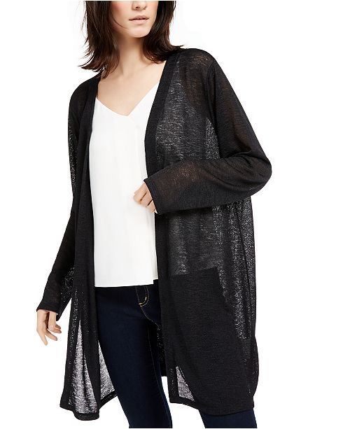 Michael Kors Straight Edge Cardigan, Regular & Petite Sizes
