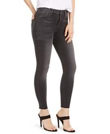 STS Blue Brie High-Rise Raw-Hem Skinny Jeans