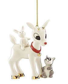 Rudolph's Furry Friends Ornament